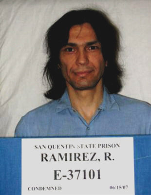 Richard Ramirez Mugshot - By San Quentin State Prison, California Department of Corrections and Rehabilitation - [1], Public Domain, https://commons.wikimedia.org/w/index.php?curid=19200598