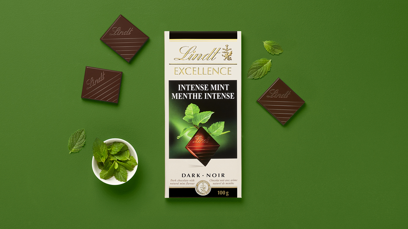 Lindt Excellence - Creative Direction and Art Direction by Guillaume Briere (Montreal and Toronto) - Food and Product Photography - Branded Content