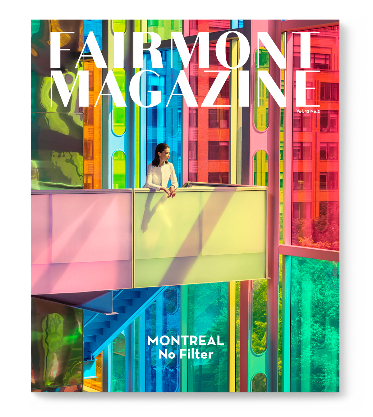 Creative Direction, Art Direction and Design for Fairmont Hotels Magazine (Branded Editorial Content) by Guillaume Brière (Montreal / Toronto-based creative director)