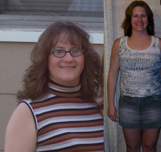 Michelle lost 40 pounds and 10% body fat.
