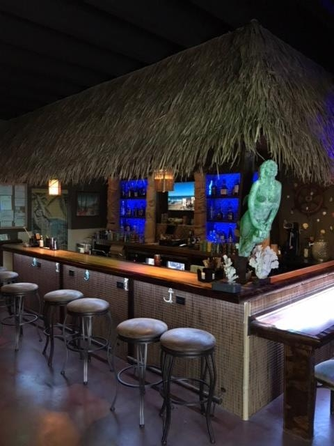 Our inviting bar