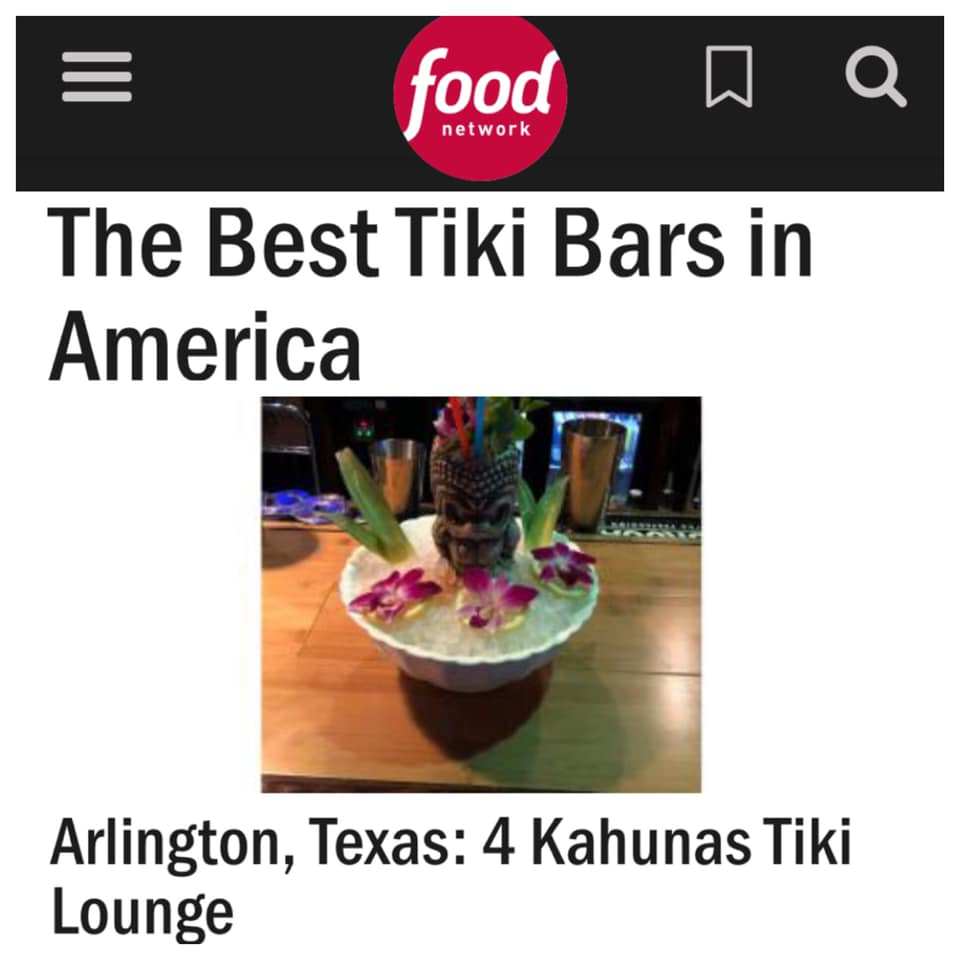 Food Network's Best Tiki Bars in America