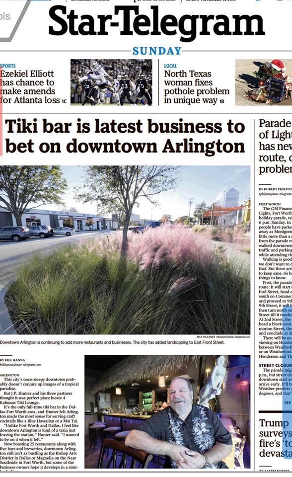 Fort Worth Star-Telegram Cover Story