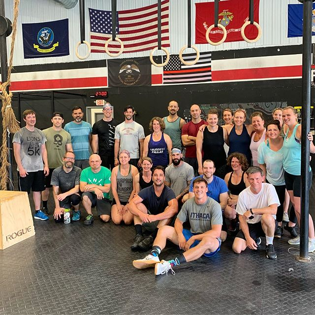 Please join us in wishing Dana and Kerry a fond farewell, and the best of luck with their respective moves.⁣⁣ ⁣⁣ Dana and Kerry, thank you both for joining our community, and for sharing yourselves and your families with us. We miss you all already!⁣⁣ ⁣⁣ #Pallas #CrossFitPallas #PallasFitness #Community #Coaching #Fitness #CrossFit #CrossFitKids #Yoga #Core #Pregnancy #Postpartum #WomensWellness #Functional #Health #Wellness #Gym #Ithaca #FLX