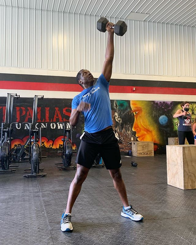 It's a good day to have a good day! Monday motivation courtesy of athlete, Babajide. Happy Monday everyone! ⁣ ⁣⁣ #Pallas #CrossFitPallas #PallasFitness #Community #Coaching #Fitness #CrossFit #CrossFitKids #Yoga #Core #Pregnancy #Postpartum #WomensWellness #Functional #Health #Wellness #Gym #Ithaca #FLX