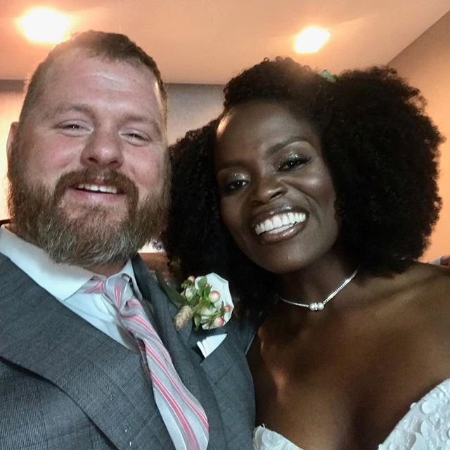 Wow! We are so full of gratitude for every person who helped make this weekend truly spectacular!  Everything was EPIC!!! God has cheesed on us so much! Ubuntu- I am because we are! #MrandMrsPeaches 4ever! I love my you Peaches, my sweet, kind, funny, strong, beautiful husband Mr. Gregory Warren Sternberg. @hookerpeaches #Twende - Let's go!