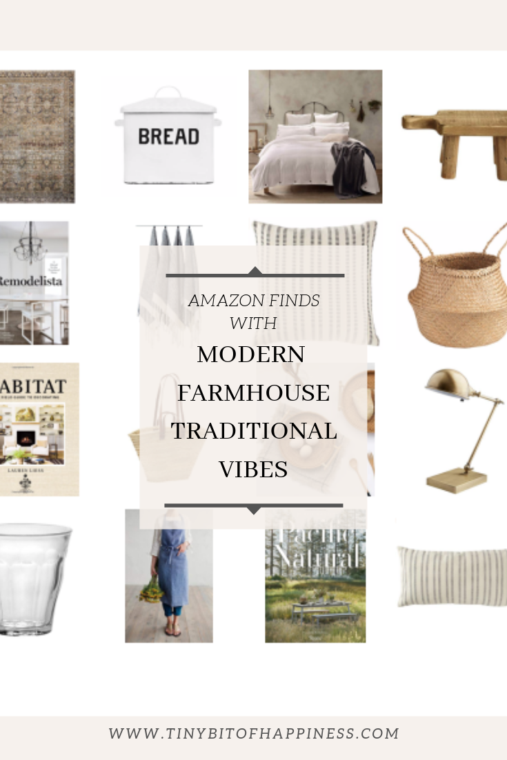 Tiny Bits of Happiness: Amazon Finds with Modern Farmhouse Traditional vibes