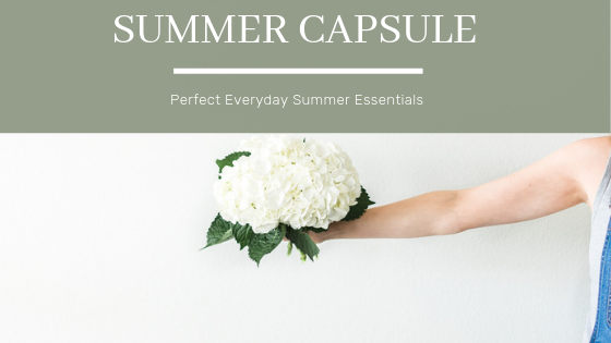 Tiny Bits of Happiness | Summer Capsule Style