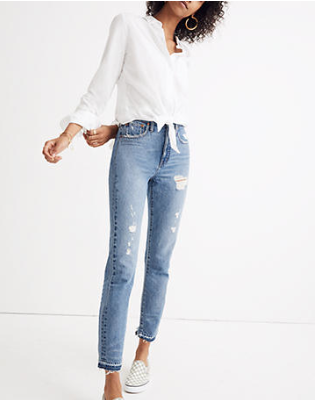 Tiny Bits Summer Capsule Pieces | Perfect White Button Up