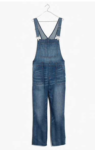 Tiny Bits Summer Capsule | Madewell Overalls