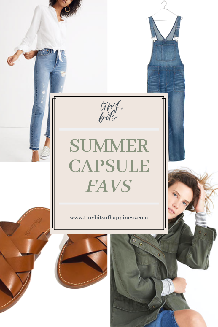 Tiny Bits Summer Capsule Style