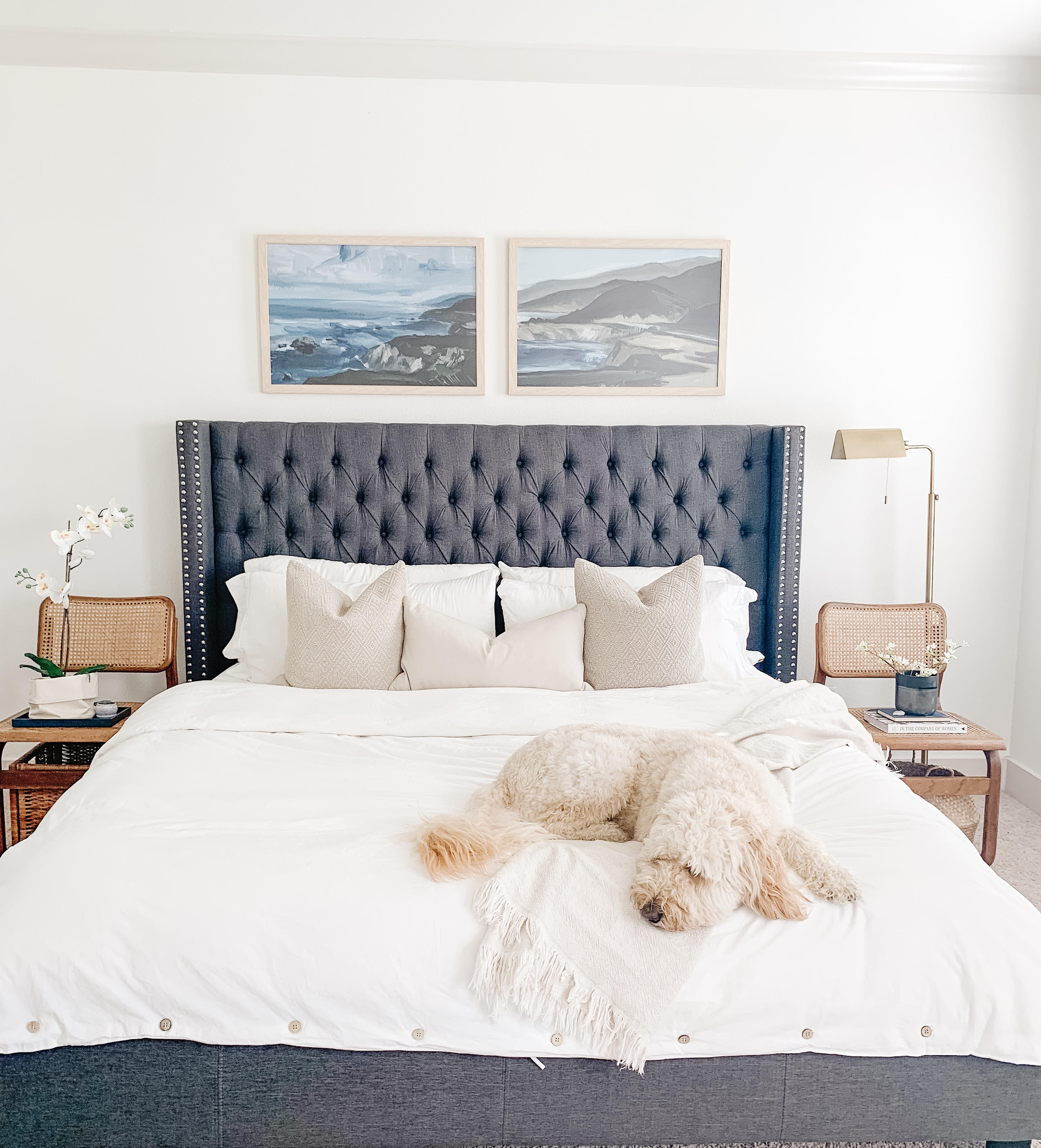 Master Bedroom | Tiny Bits of Happiness Home Tour