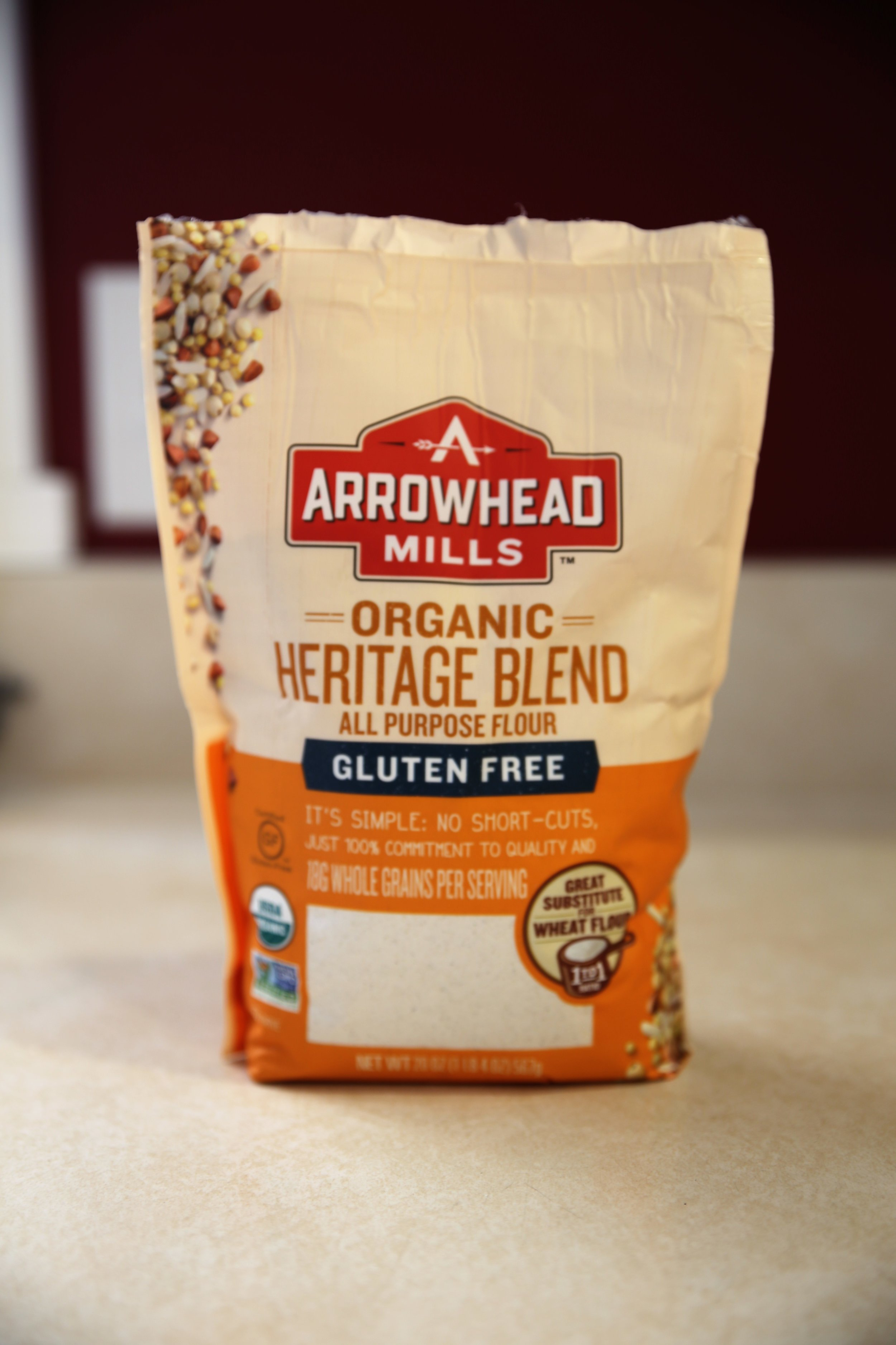 Love that this is a 1:1gluten free flour mix - Many 1:1 GF options taste very rice-y but this one definitely is closer to more of the
