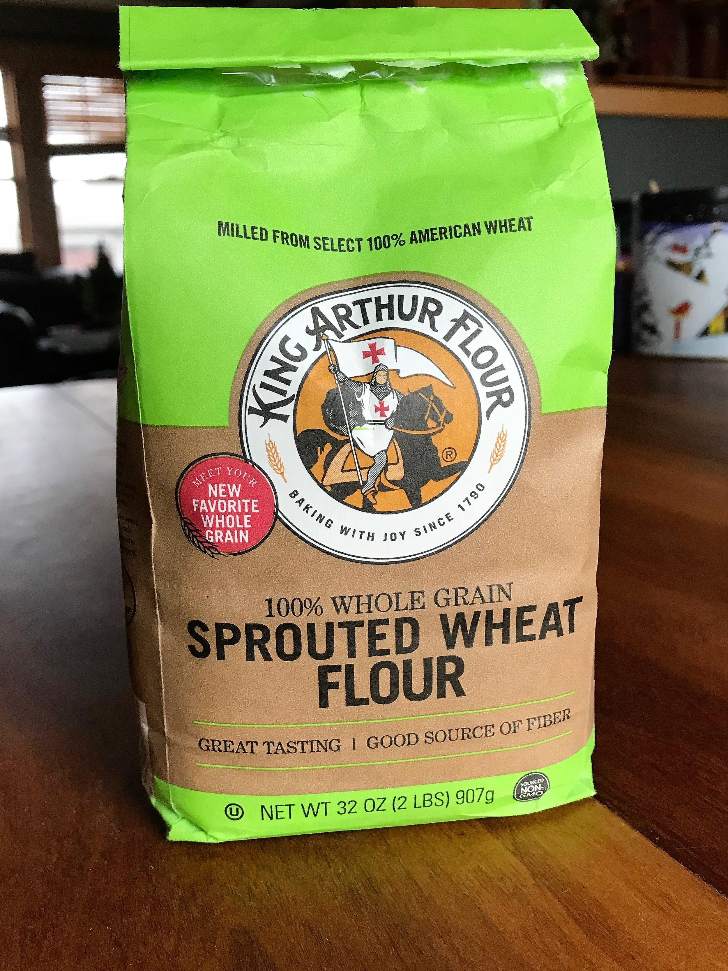Sprouted flour! Need I say more? - Check out pages 127-128 of Living Wellness for Growth Groups for more info why we love sprouted grains. Where to buy: Available at Whole Foods, ThriveMarket.com, and Amazon.com (though only through Prime Pantry or huge quantities)