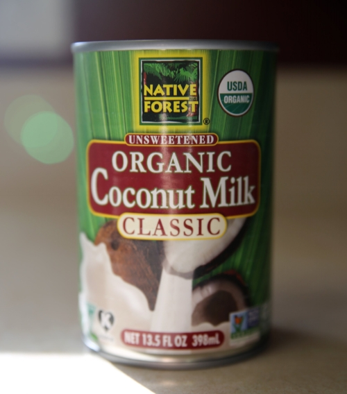 Coconut milk - We love to use coconut milk in smoothies, protein shakes, with hot chocolate, and even in creamy soups! Most store-bought cartons of coconut milk have several extra ingredients in them including thickeners or stabilizers AND a lot of water. Water is not bad, but I'd rather not pay for water! The Native Forest Coconut Milk Classic (make sure it's the