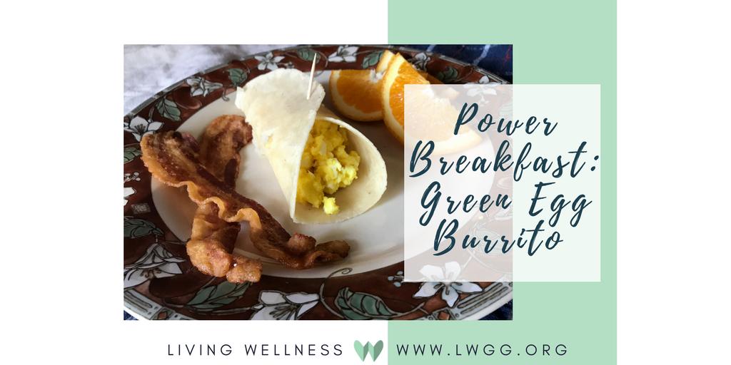 Power Breakfast, Green egg burrito.png