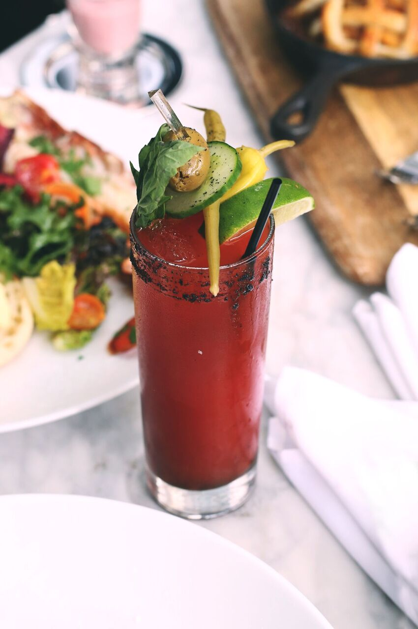Kick up your brunch by a few sizzling notches with a tasty caesar