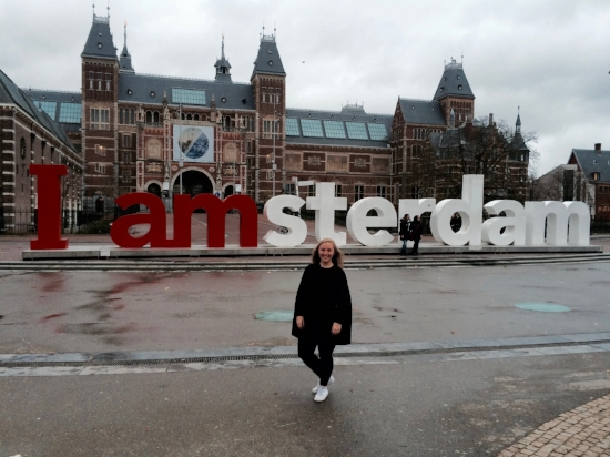 My Dutchie-ness came out, and I loved exploring Amsterdam while everybody else was still in bed!