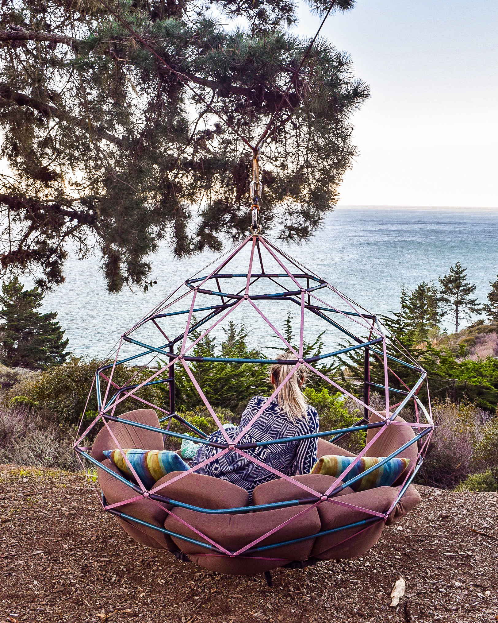 We were able to snag a single night stay at Treebones Glamping Resort in Big Sur, California. Usually, they require a three night stay at over $300 per night, but after getting in contact with them, they allowed us to book one night since that was all that was available for the weekend we were looking, saving us significant money.