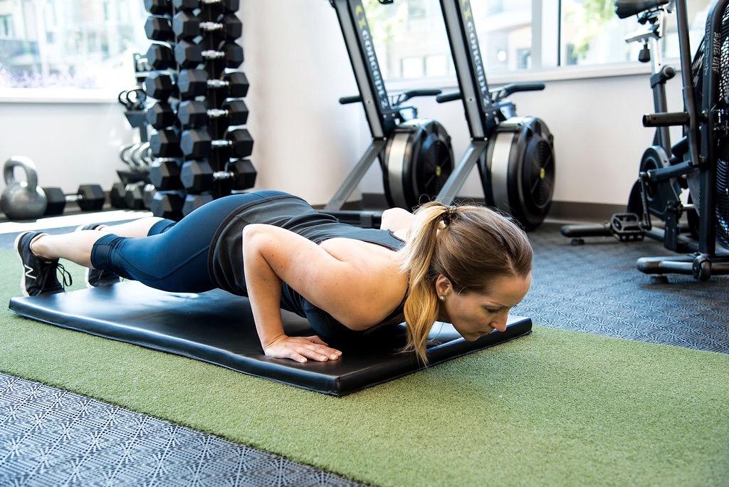 Tracey push-ups