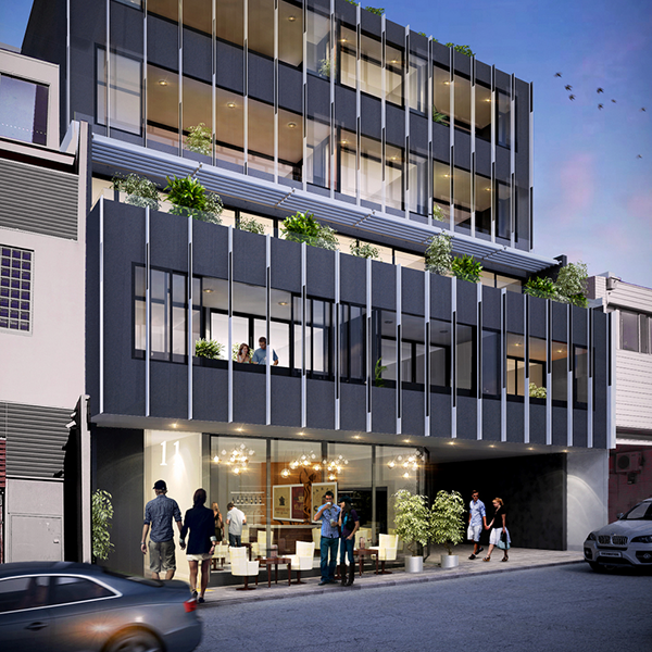 Bay Central – 128 Military Road, Neutral Bay    Client:  Platino Properties  Architect:  Platino Properties  Duration:  12 months