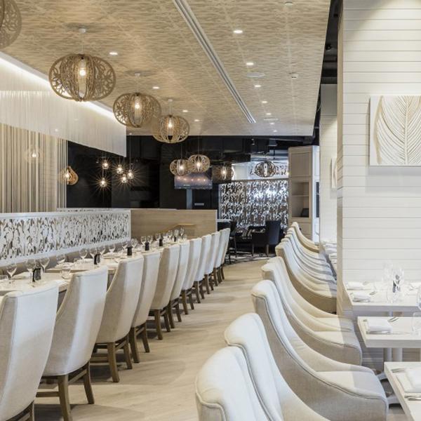 Abode Restaurant, Parkroyal Hotel, Darling Harbour    Client:  Parkroyal Hotel & Resorts  Architect:  Forward Thinking Design  Duration:  9 weeks