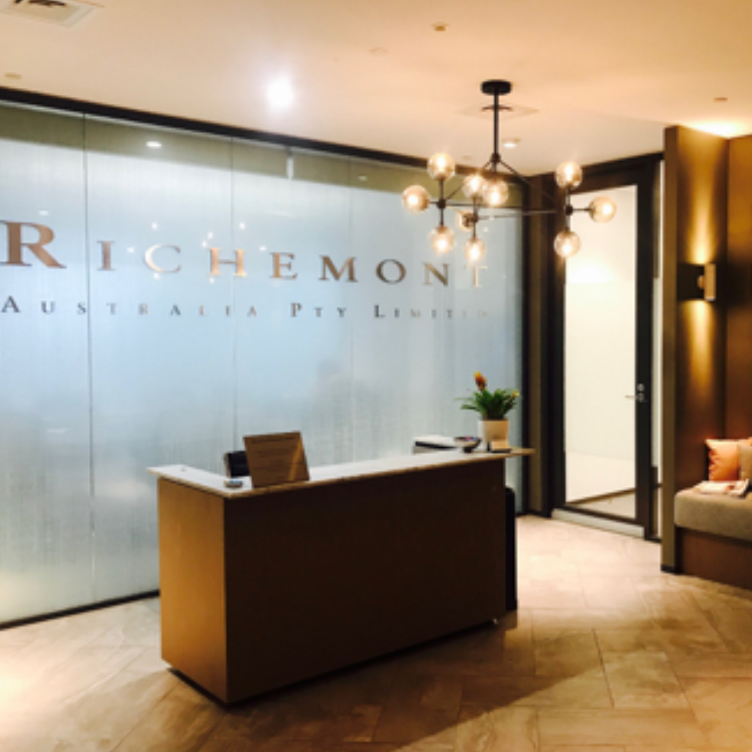 Richemont Australia - Stage One    Project Manager:  Ascot Project Manager   Architect:   Gray Puksand   Duration:   8 weeks