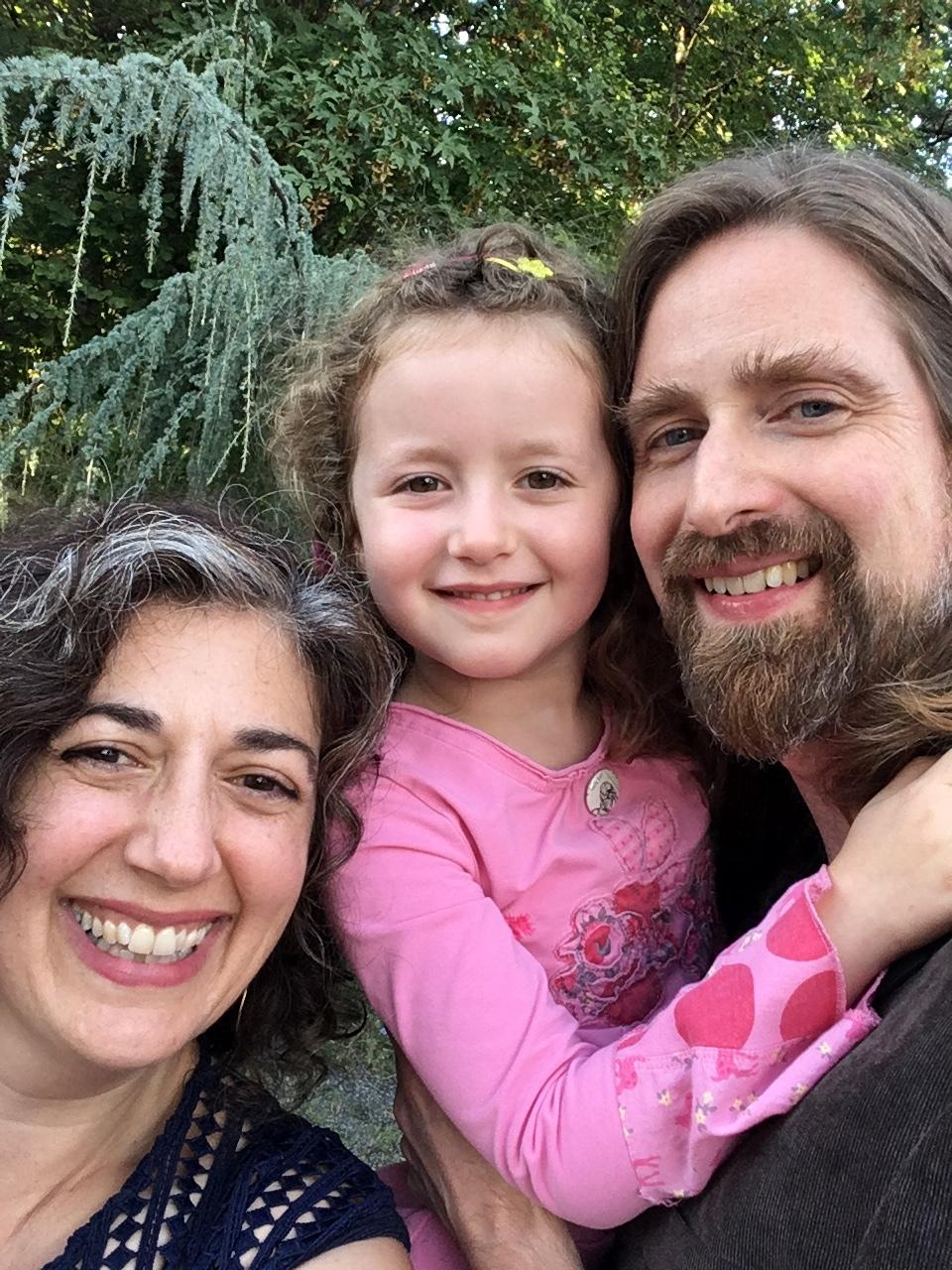 Claudia, River, and John summer 2017.