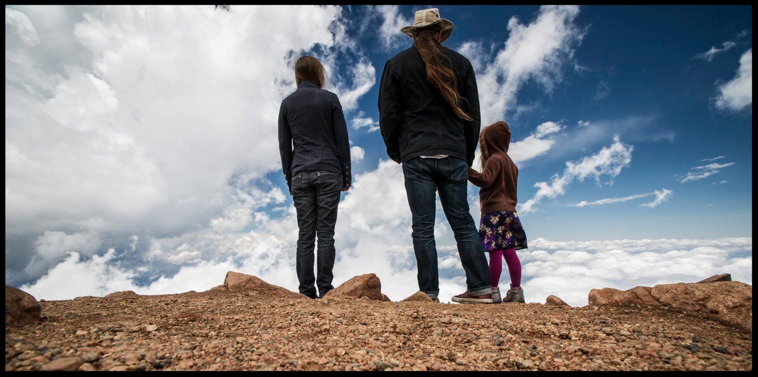 Josh, his wife Anna, and daughter Ella Lorien