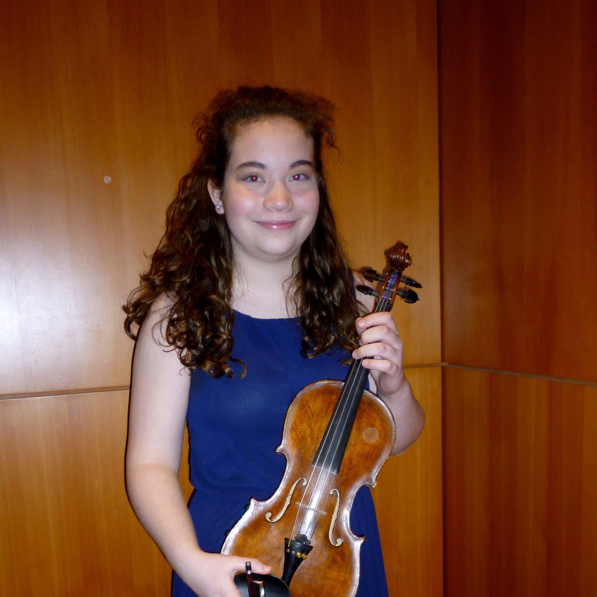 Catherine Carson, violin