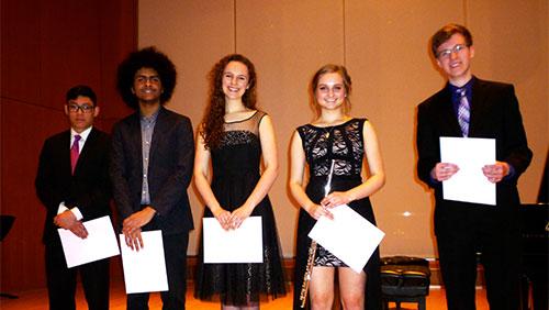 Senior High Winners