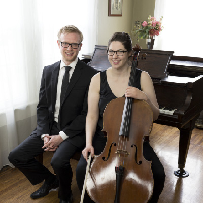 Artu Duo: Ruth Marshall, cello; Garret Ross, piano  (Thursday Musical debut)