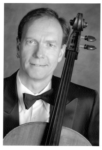 Daryl Carlson, cello