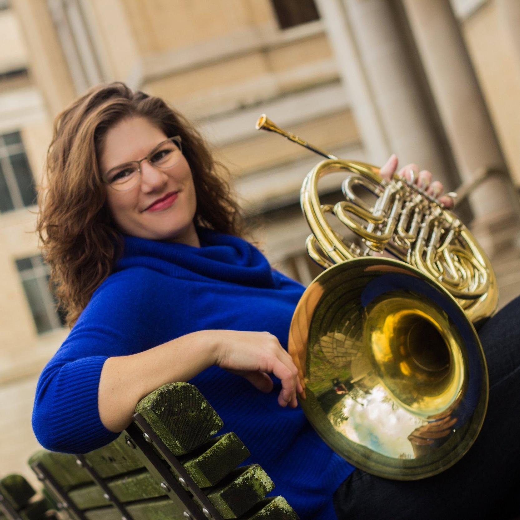Jenna McBride-Harris,  horn  Thursday Musical Debut