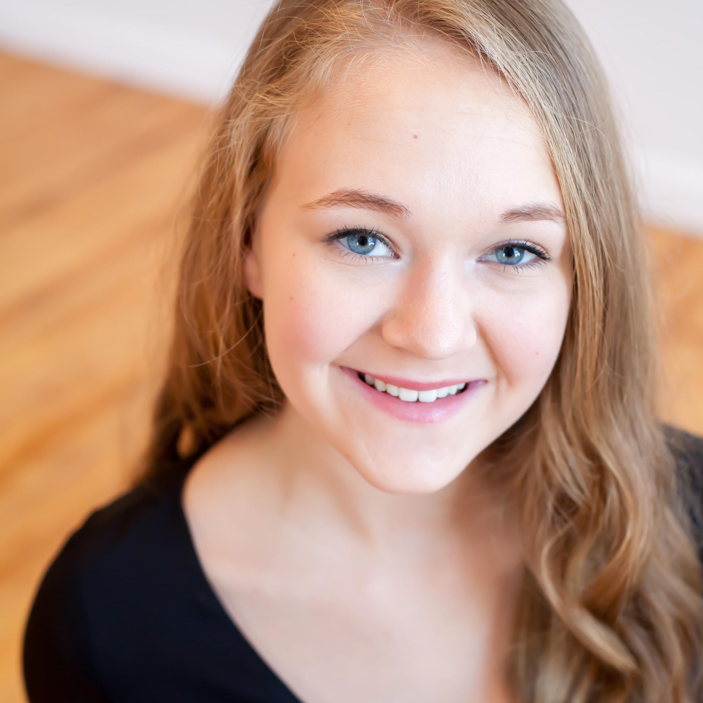 Tessa Larson,  soprano  Young Artist Scholarship Competition Winner 2018