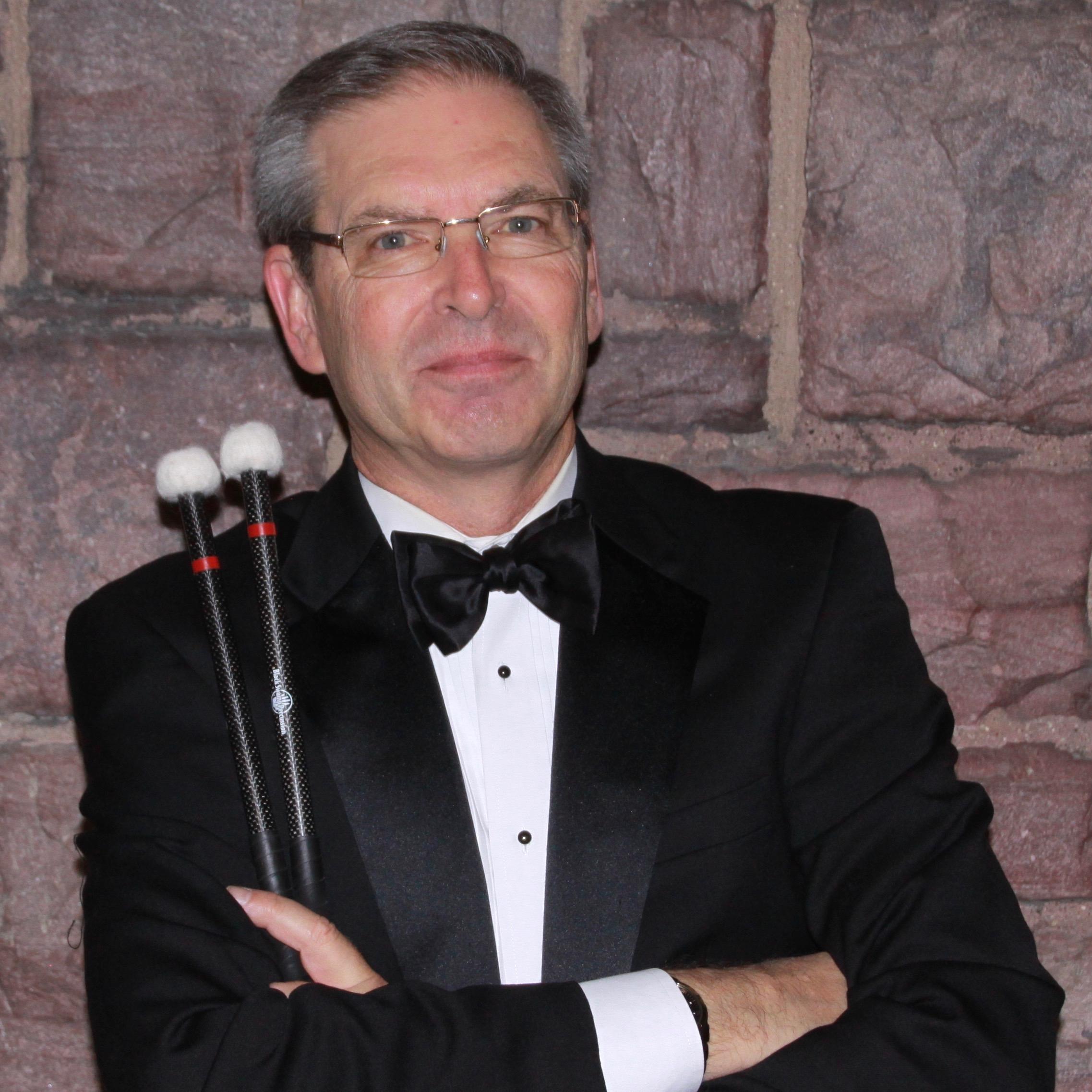 Robert Adney,  percussion
