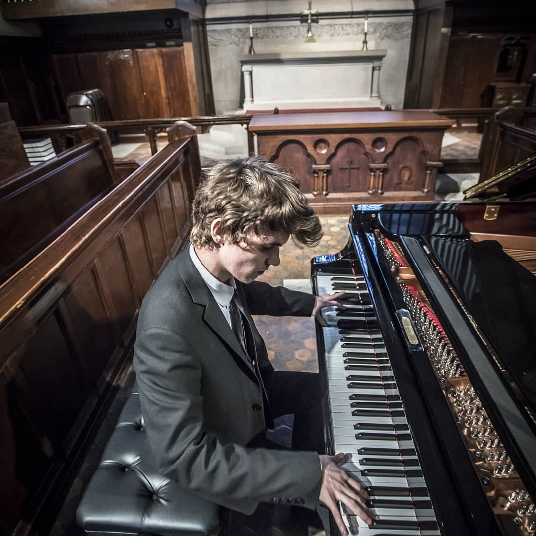 Kirill Nazarov, piano Young Artist Scholarship Winner 2019