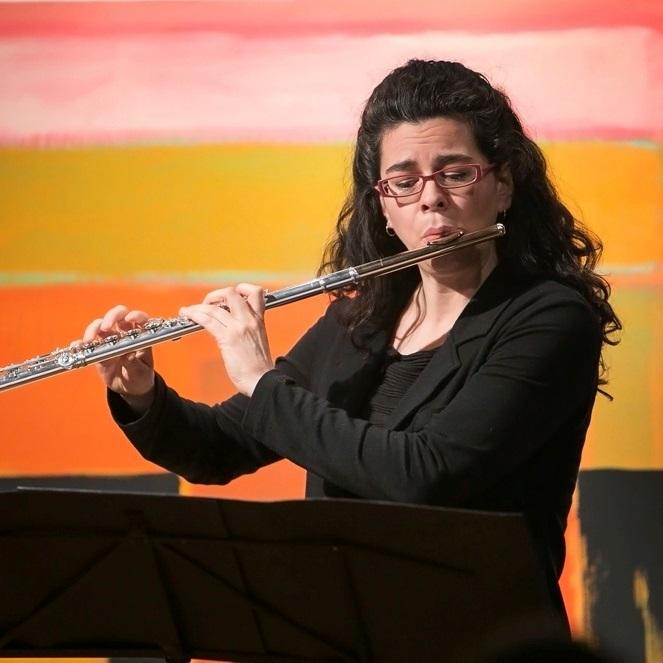 Catherine Ramirez, flute
