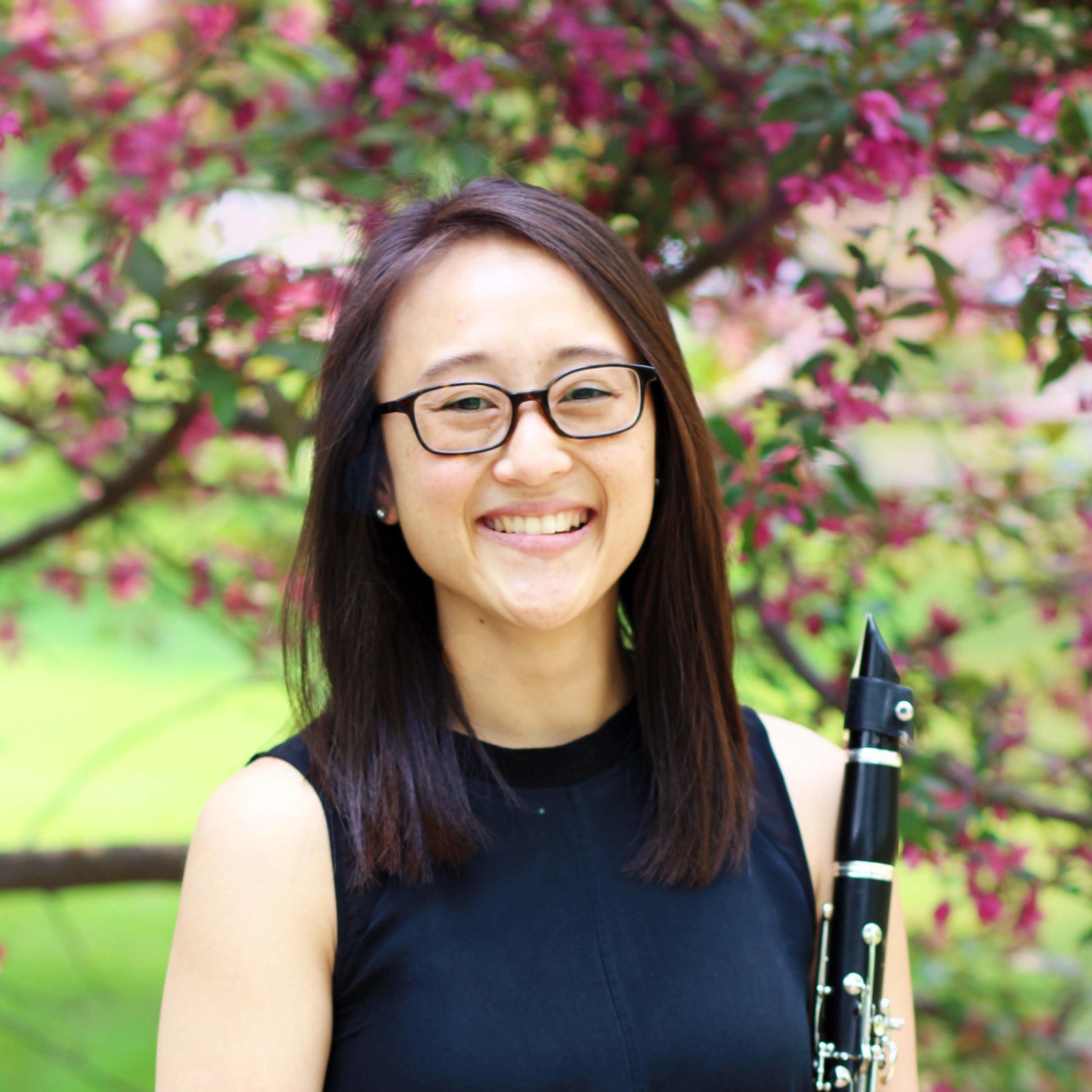 Amelia Smith,  clarinet  Thursday Musical Debut