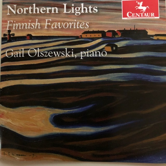 Newly released CD from  Gail Olszewski  -  Northern Lights: Finnish Favorites