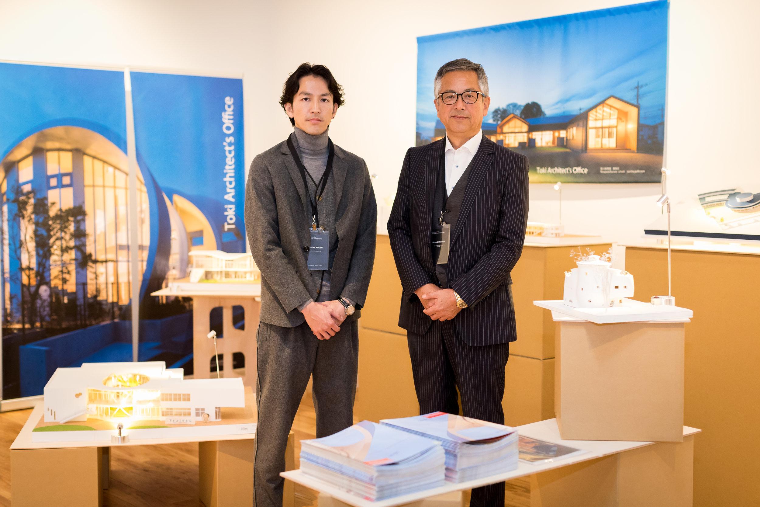 Representatives of Award-winning Japanese Architecture Firm Tokisekkei - Hiroyuki Kikuchi (Right) and Keisuke Kikuchi (Left).jpg