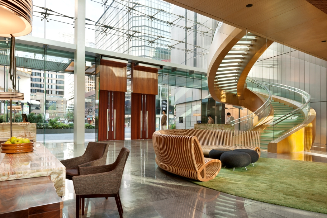 5-star Hotel ICON - Designed by famous local architects, the stylish Hotel ICON enjoys harbour views in Tsimshatsui East Kowloon. It presents a rooftop outdoor heated pool, pampering spa services and a health club.