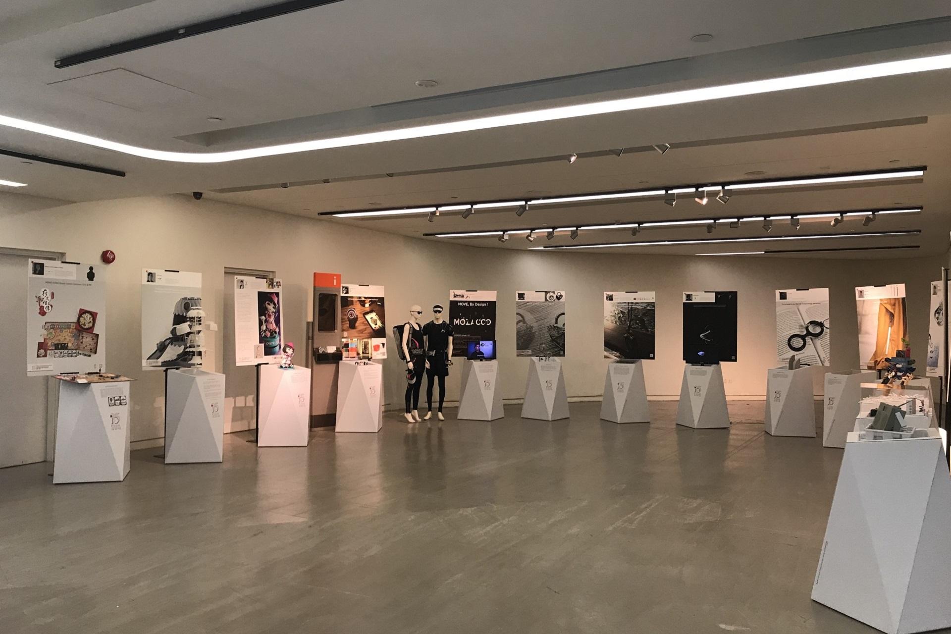 賽馬會創新樓主要功能之一為展覽(照片來源:賽馬會創新樓).JPG
