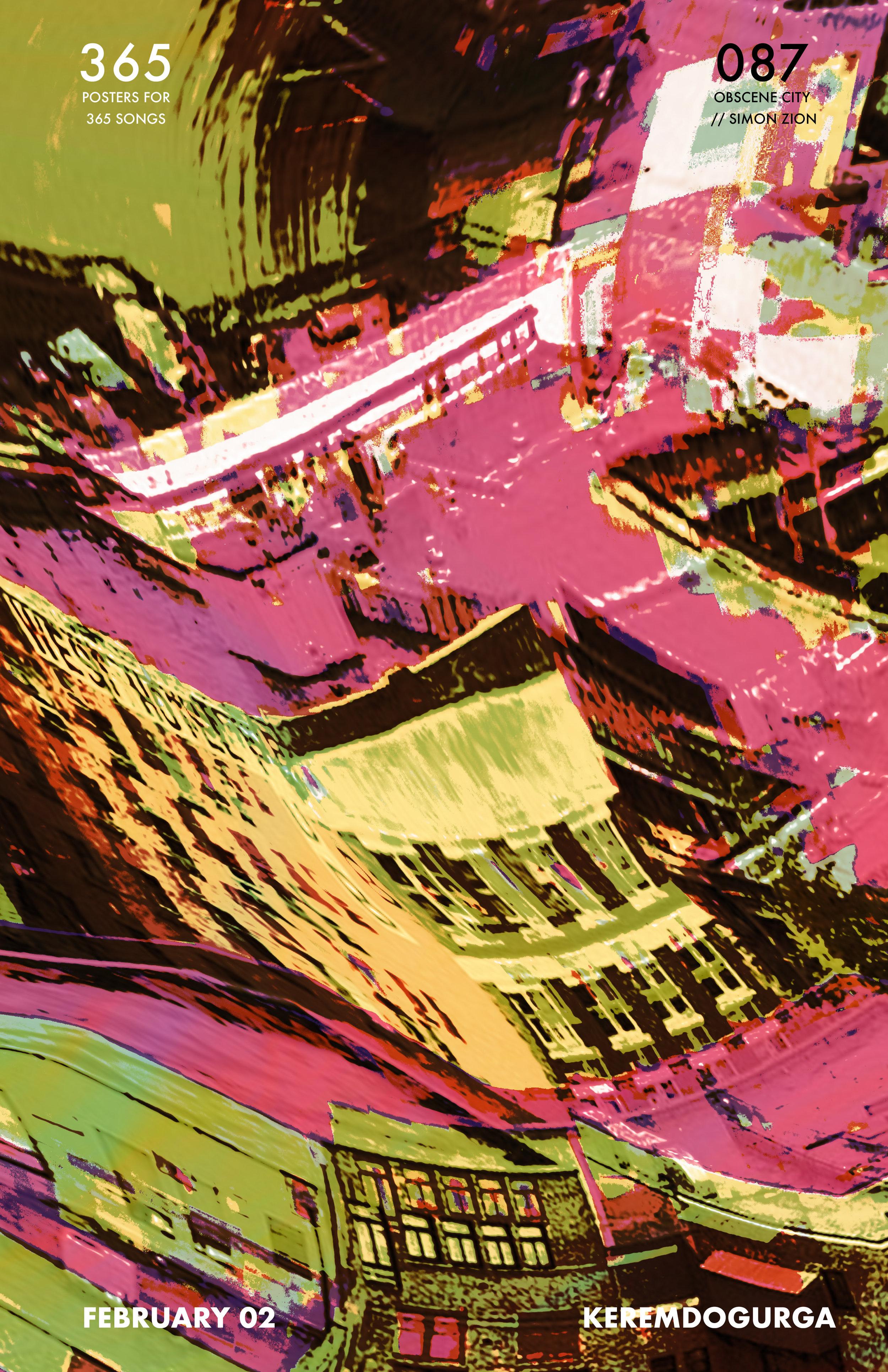 087 Obscene City // Simon Zion