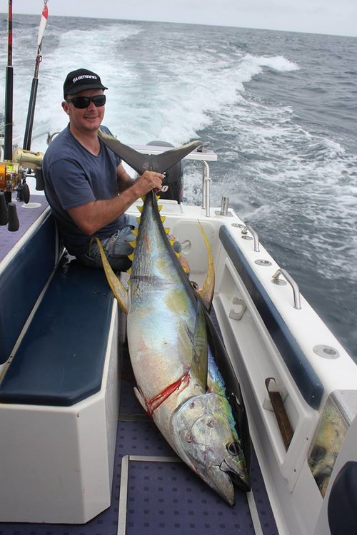 Full-day Offshore Fishing Charter - Tuna Fishing