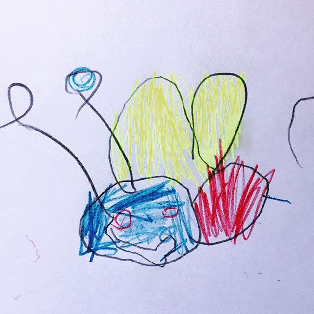 Nova 3 y/o learns how to draw a Doodlebug for the first time! #artcrafts #kids #mykids #parenting #parentingtips #parentinghacks #artkids #childrenart