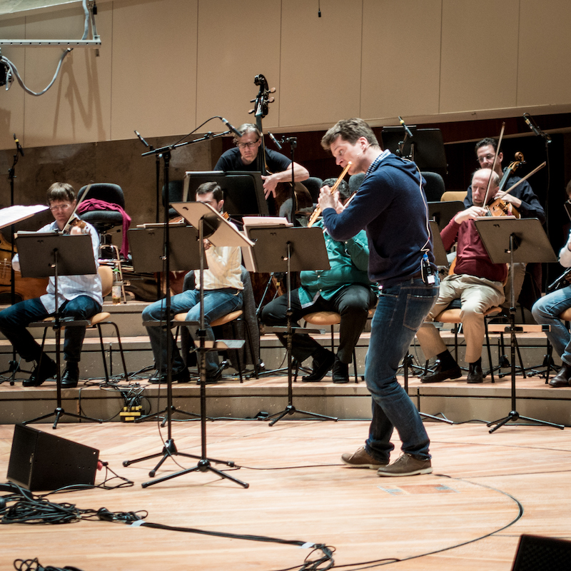 Boulez Rehearsal Philharmonie Berlin - Photo by Martin Kubik
