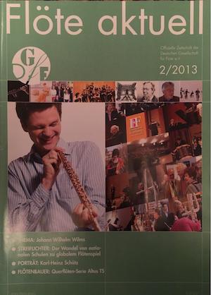 Flöte Aktuell 2013 (DE)