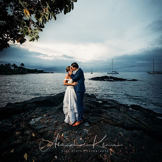 It's been awhile since I shared a photo.  I wanted to share this photo from a spectacular day! What a beautiful wedding! • The moments that these 2 lovebirds created where unstoppable and an absolute joy to watch and capture!  @tashytweets @byrniebonds thank you for being so ahhhhhhmazing!!!! • • #hawaii #hawaiiphotographer #sunset #bigislandweddingphotographer #weddingphotographer #hawaiiweddingphotographer #hawaiiwedding #fineartphotography #weddingstyle#weddingfashion #modernwedding#bridalfashion#weddinginspirations #weddingdetails #weddingideas#weddinginspo#bride #groom #loveauthentic#junebugweddings