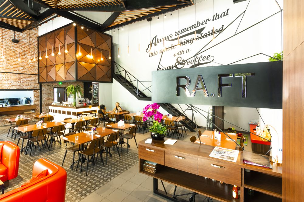 Ra-Ft Cafe' Arcoris Mont Kiara